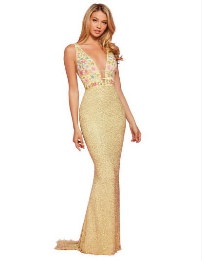 Вечернее платье 53550