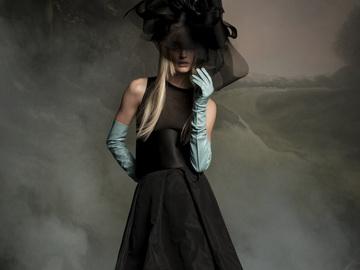 Черное свадебное платье – элегантный вызов обществу