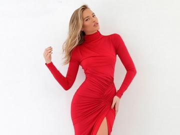 Красное свадебное платье: жизненная сила через край!