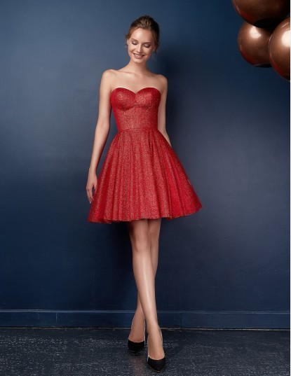Вечернее платье Daisy red